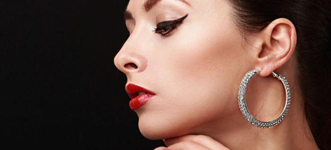 Стильная элегантность макияжа со стрелками