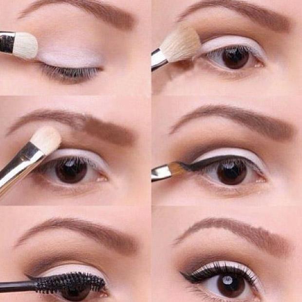 инструкция макияжа со стрелками