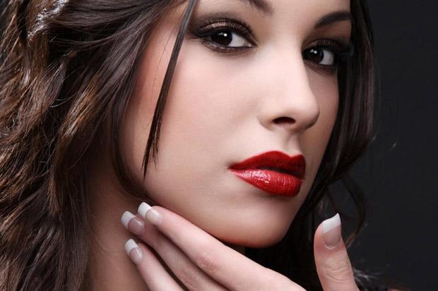 макияж для темных карих глаз