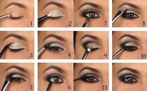 простой урок макияжа для карих глаз