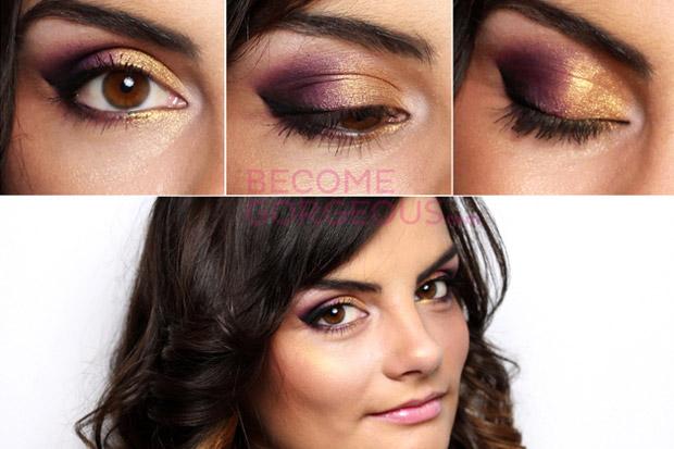 великолепный макияж для карих глаз